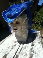 marie antoinette  renaissance riding hat victorian hat 1800 choose your color