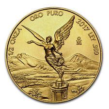 2017 Mexico 1/2 oz Gold Libertad BU - SKU#150444