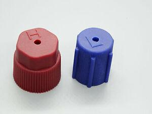 1 X Kit Capuchon Couvercle pour Voiture Climatiseurs Connexion Haute-Pression Et