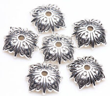 25 Tibetan Silver Daisy Loose Spacer Bead Caps Charm Jewelry Finding 10x3mm DIY