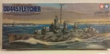 Tamiya 1/350 scale kit US Navy Destroyer,  DD445 Fletcher