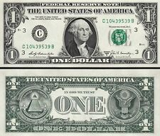 USA US 1$ DOLLAR  FRN 1969 B UNC C - 3 - PHILADELPHIA / PENNSYLVANIA