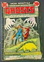 GHOSTS. NO.10. NICK CARDY-COVER. BRONZE AGE 1972. MID GRADE. VG/FN DC COMICS