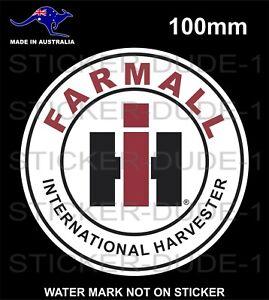 FARMALL INTERNATIONAL HARVESTER STICKER