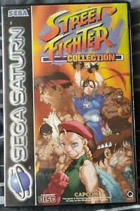 Street Fighter Collection - Sega Saturn - PAL
