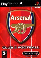 Arsenal Club Football PS2 (Playstation 2) - Free Postage - UK Seller