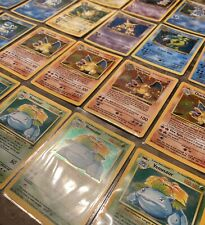 ⚠️Old Vintage Pokemon Cards Lot!⚠️WOTC Vintage Lot 🔥 First Edition