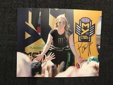 Brittany Force Signed 8 X 10 Photo Nhra Top Fuel Autographed Slight Smear