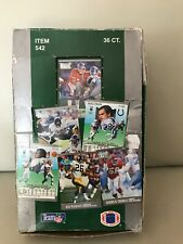 1991 FLEER ULTRA  NFL PRO FOOTBALL  WAX BOX (31 OUT OF 36 WAX PACKS IN THE BOX).
