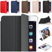 """Para iPad 9.7""""6th GEN 2018 A1893 A1954 Funda Original De Cuero Magnética inteligente"""