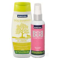 Ancol BB Dog Cologne & 200ml Lemon and Grapefruit Shampoo