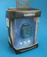 Garmin Forerunner 25 Bundle with Heart Rate Monitor Large Black/Blue 010-0135341
