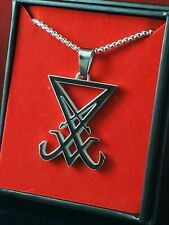 Church of Satan Seal of Lucifer - Stainless (316L)
