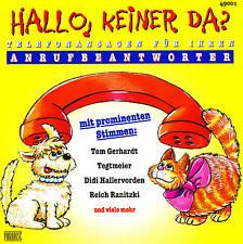 "Phone announcements for Anrufbeantworter ""HELLO,KEINER DA?"" CD 60 Tracks NIP"