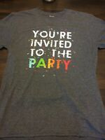 You're Invited To Party Shirt Large Humor Funny