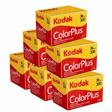 6 x Kodak ColorPlus 200 Film Pack 135 (36 Exposures)