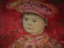 Little Emperor  Lithograph by Edna Hibel