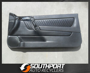 HOLDEN TS ASTRA CONVERTIBLE LEATHER DOOR TRIM CARD PANEL SUIT RH SIDE 2002-2006
