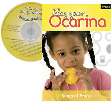 Play your OCARINA : SONGS OF PRAISE with CD  + FREE DELIVERY