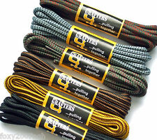 Grafters 140cm Round Shoe Hiking Boots Lace Strong Textile Boot Laces 7 Colours