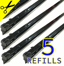 "5x 20"" Windscreen Wiper Blade Rubber Refills Anti Smear Technology 60 day Return"