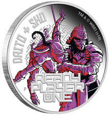 2018 Ready Player One - Daito & Sho 1 oz Silver Proof $1 Coin spielberg movie