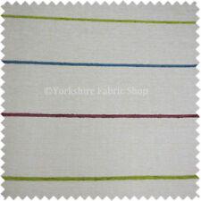 Telas y tejidos de rayas de chenilla para costura y mercería