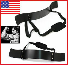 NEW Professional Arm Isolator Blaster Body Building Curl Tricep Bar US SHFH