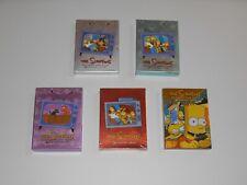THE SIMPSONS Season 1 2 3 5 10 Fox Comedy TV Show 19 Disc DVD Set Lot Bart
