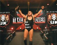 PETE DUNNE WWE NXT UK CHAMPIONSHIP BELT PHOTO WRESTLING 8x10 PROMO