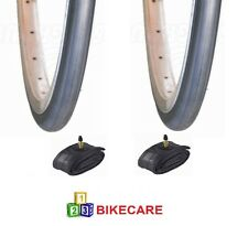 Pair Of 700x23C Road Slick Tyres High Quality With Tubes VC-2305-5