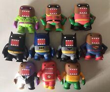 Funko DOMO DC Comics Superhero Mystery Minis Figure Lot Of 10 BATMAN SUPERMAN 👍