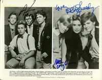 ST. ELMO'S FIRE Cast Photo Signed By Three Stars