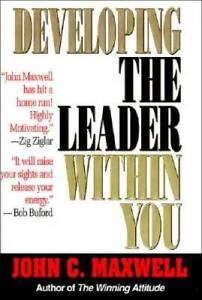 Developing the Leader Within You - Hardcover By Maxwell, John C. - GOOD