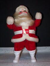 HAROLD GALE SANTA COCA COLA RED VINTAGE DOLL DISPLAY CHRISTMAS TREE ORNAMENT NW2