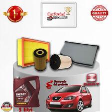 Mantenimiento Filtros + Aceite Seat Altea 1.6 Tdi 77KW 105CV De 2010- >