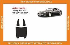pellicola oscurante vetri aston martin vanquish v12 dal 2001-2004 kit posteriore