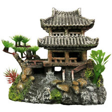 Slocme Aquarium Classical Resin Castle Decorations - Fish Tank Realistic Castle