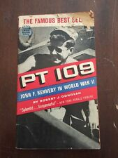 1962 PT 109 John F. Kennedy in World War II First Crest Printing Robert Donovan