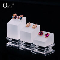 Earring Holder Exquisite Style Perspex Jewellery Display Stands  Set of 3