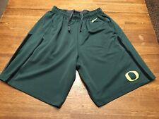 Nike Oregon Ducks Basketball Shorts Size L LARGE Men's Athletic Nike Short NCAA