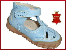 Baby-Sandalen aus Leder mit Klettverschluss für Jungen