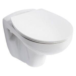 STYLISH ARMITAGE SHANKS S404501 BLANC ORION WHITE TOILET SEAT & LID ~ BNIB!