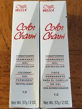 Wella Color Charm Haircolor #367/3RV Black Cherry Lot of 2