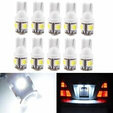 4X T10 LED Lights Bulbs Globes W5W 194 168 501 Dash Park Interior Number Plate