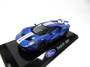 Ford GT 2017 - 1/43 Voiture IXO Supercars Edition Italienne S33