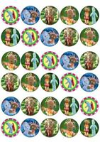30 X IN THE NIGHT GARDEN IMAGES EDIBLE CUPCAKE TOPPERS PREMIUM RICE PAPER 226