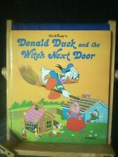 WALT DISNEY'S DONALD DUCK AND THE WITCH NEXT DOOR - PURNELL 1976 1st HB - VGC