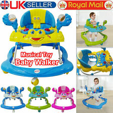 Baby Walker First Steps Activity Bouncer Musical Melody Toy Push Along Ride On