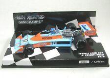 Tyrrell Ford 007 No.37 A. Pesenti Rossi Fórmula 1 1976 1:43